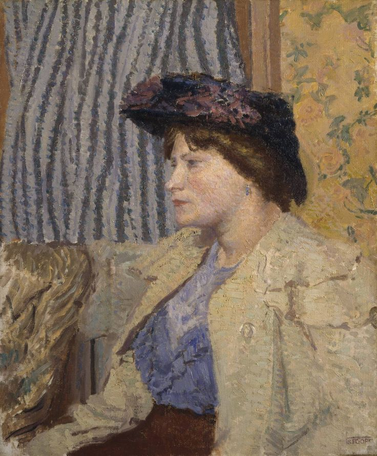 Spencer Gore  North London Girl c.1911-12