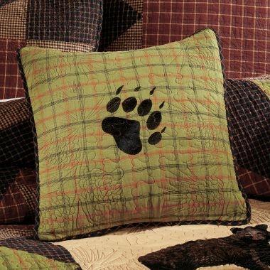 Cabela's: Donna Sharp Bear's Paw Decorative Pillows: Decor Ideas, Cabins Stuff, Cabins Decor, Bear Paws, Bears Paw, Cabins Ideas, Bears Stuff, Decor Pillows, Sharp Bears