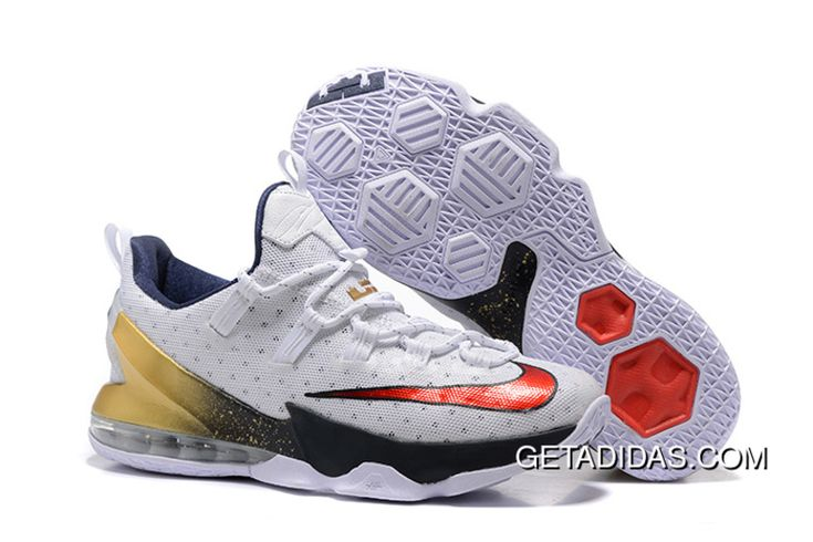 http://www.getadidas.com/nike-lebron-james-13-white-red-black-gold-topdeals.html NIKE LEBRON JAMES 13 WHITE RED BLACK GOLD TOPDEALS Only $87.54 , Free Shipping!