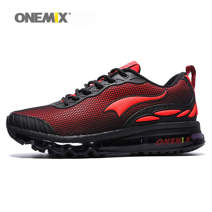 Onemix men's running shoes women sports sneakers breathable lightweight  men's athletic sports shoes for outdoor walking