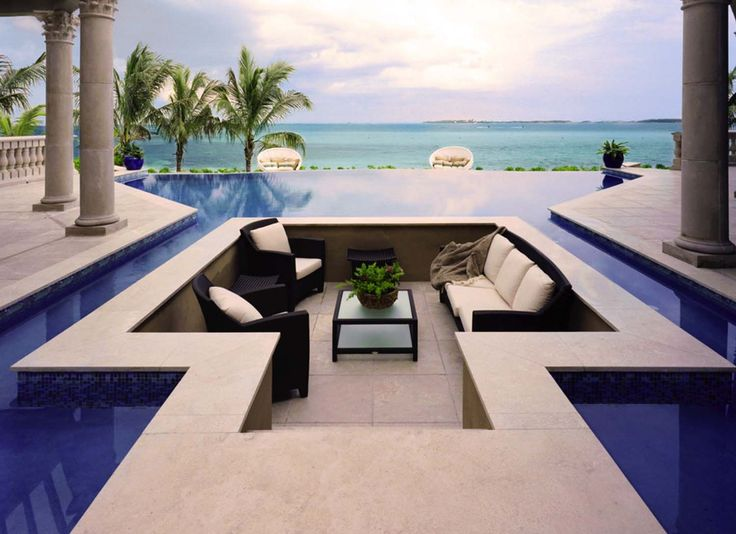 17 best ideas about infinity edge pool on pinterest. Black Bedroom Furniture Sets. Home Design Ideas
