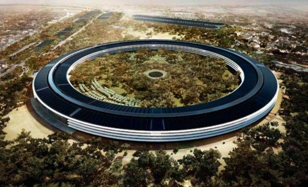 Cupertino posts tweaked Apple spaceship campus plans as launch day slips to 2016