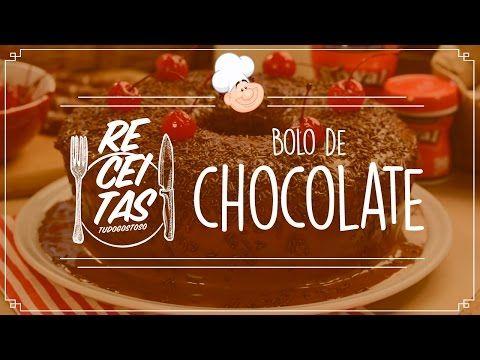 Receita de A melhor receita de bolo de chocolate - Tudogostoso
