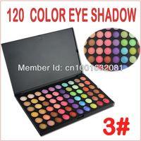 Profesional!! Sombra de ojos mate paletas 120 03# colores paleta de cosméticos