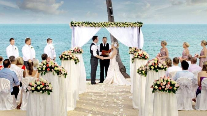 This is where I will do my wedding.
