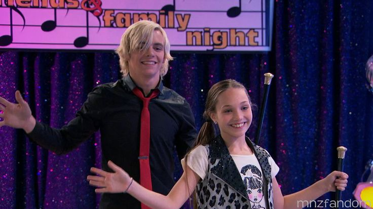 """Maddie Ziegler danced and acted on """"Austin and Ally"""" [2015]"""