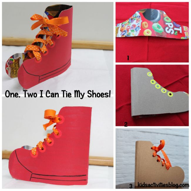 I have a secret... my kids can't tie their shoes. I need to make one of these for them to practice on!