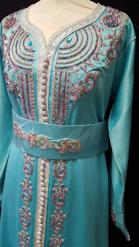 Caftan Marocain Robe Mariage existe en 2 par Sheherazadesign