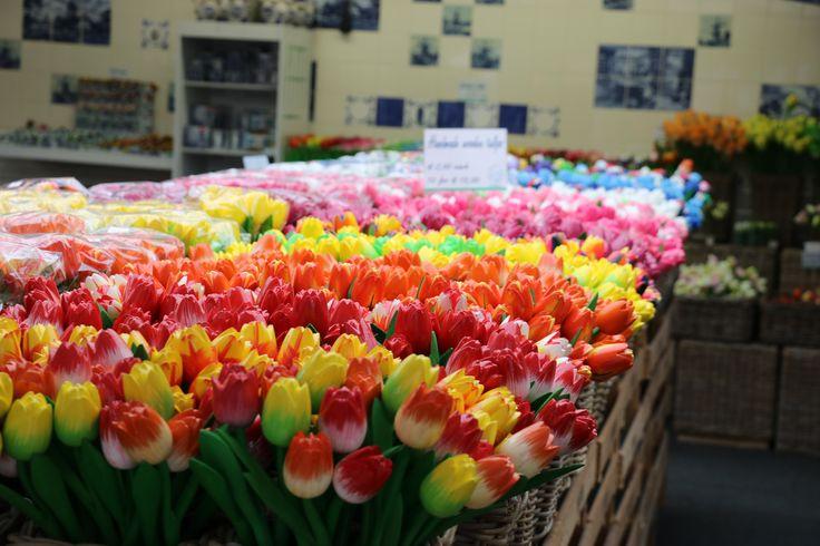 Flowers at the Bloemenmarkt  Photo credit: www.emmajaneexplores.com