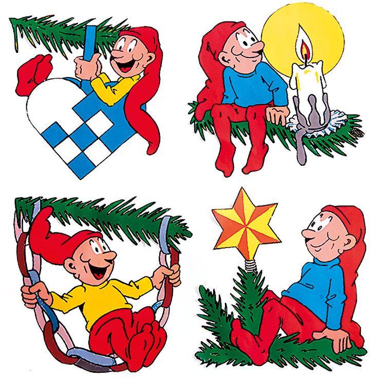Bramming udendørs kravlenisser i juletræ 40 cm