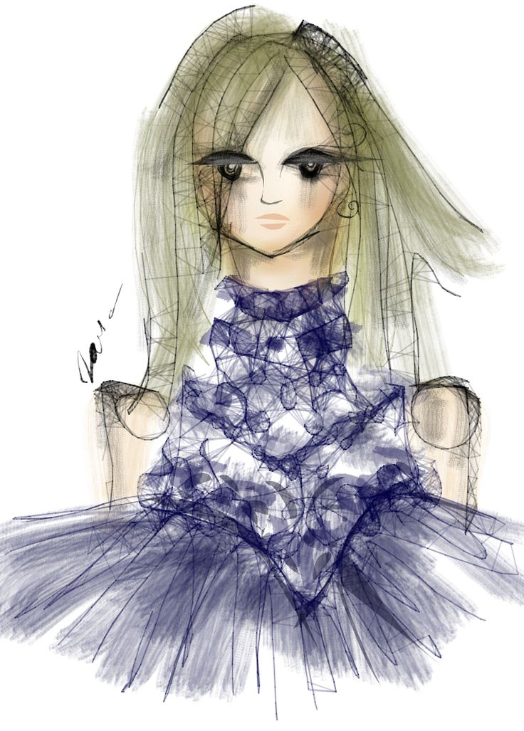 Exciting way to end the day , we are amazed . The talented @taliazorefstyle  also joined @persy_couture fashion illustration competition with a great #illustration of our Persy Bridal Couture TRIBELICA #FRINGE #fringesfever - #flower #lace #joy !  ATTENTION  Illustrators, Designers, Fashion Lovers and Creative Beings - Enter our fashion illustration competition and get a chance to win an amazing commercial collaboration with  Persy Bridal, launching the new SS2016 Collection.