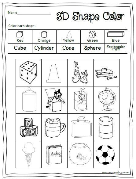 17 Best images about Teaching - SHAPES on Pinterest | Kindergarten ...