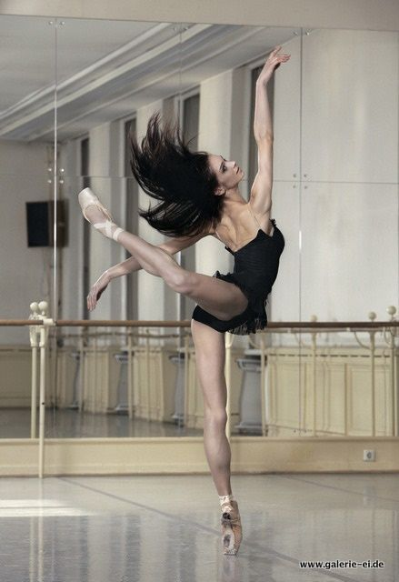 Muscular technical extension of energy -Polina Semionova beautiful