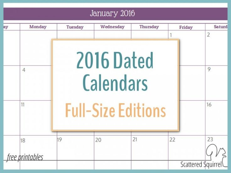 22 best Free Printable Year-at-a-glance Calendars images on - printable monthly calendars