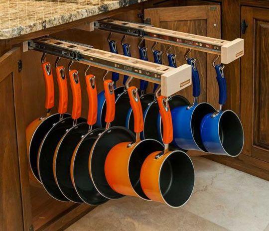 A genius kitchen design idea