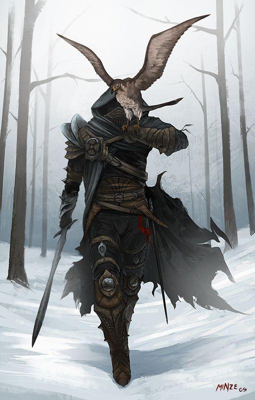 Dark Assassin by ~ATArts on deviantART