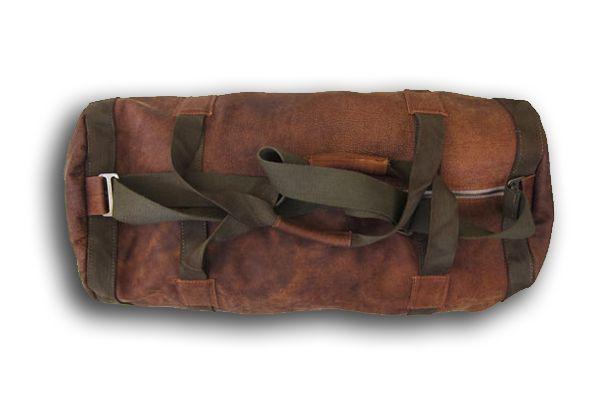 Leather Duffel Bag #duffel #leather #luggage