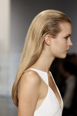 A Spring/Summer Hair Trend that Is Being Seen More and More Lately and is Super Easy to Do! via www.flutterandpout.com