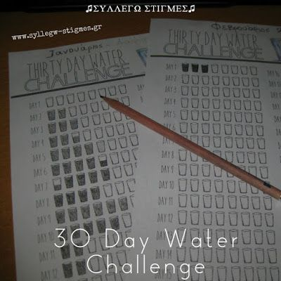 30 Day Water Challenge #7 (Ιούλιος 2017)