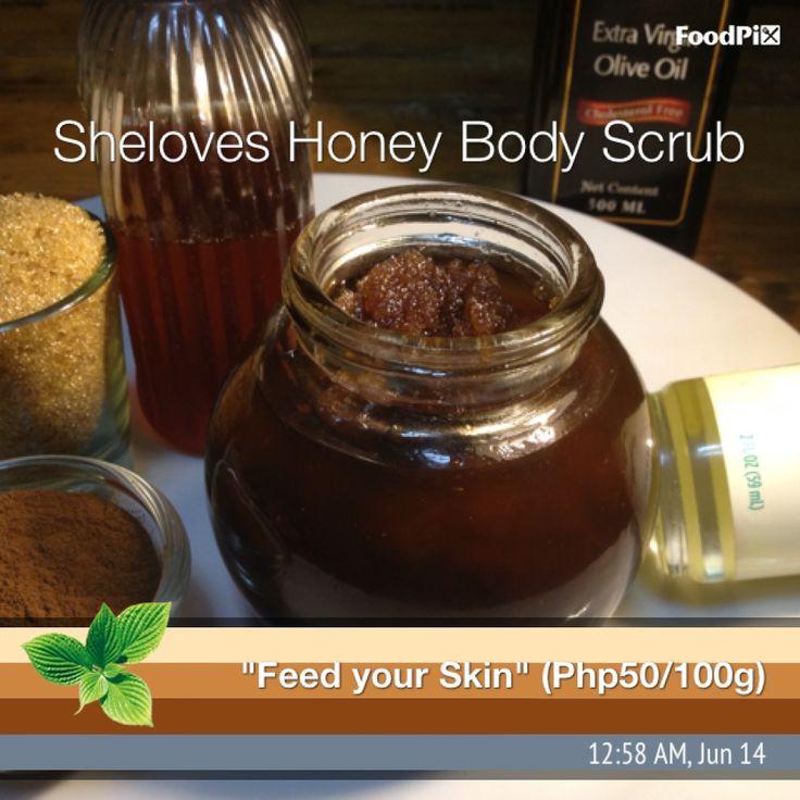 Honey body scrub