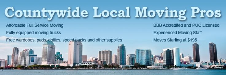 Moving Companies San Diego - Movers - AZ Moving Pros