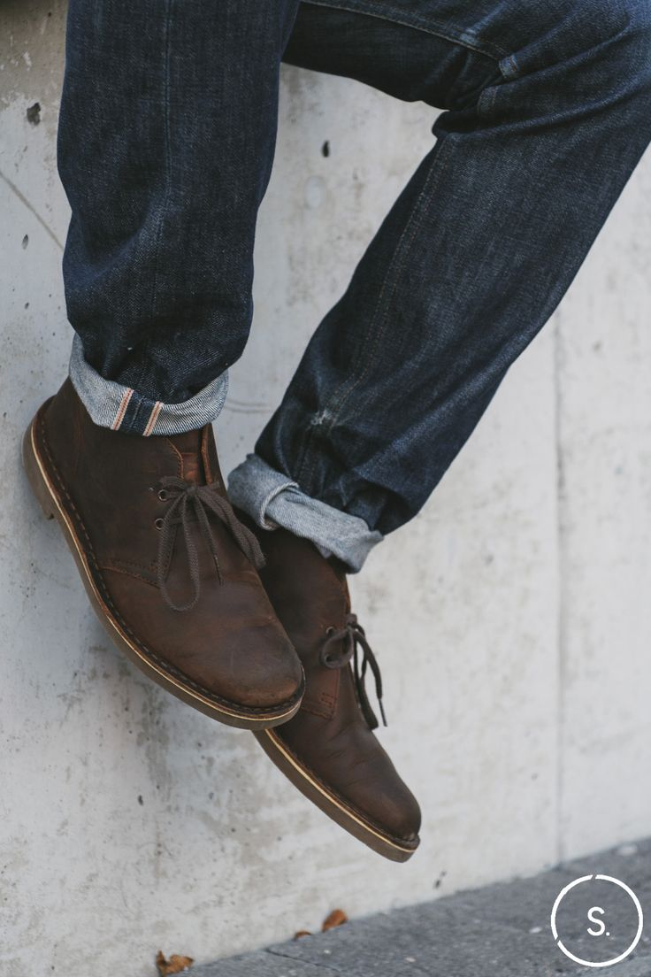 Clarks Desert Boots: Iconic since the days of Steve McQueen. Available now on SHOES.COM.