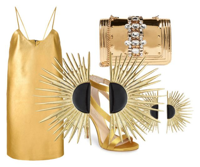 """""""Untitled #3"""" by charlene-subbarayan on Polyvore featuring Manokhi, GEDEBE, Imagine by Vince Camuto and Aurélie Bidermann"""