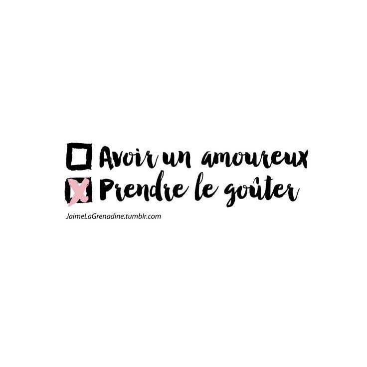 Un amoureux ou le goûter? - #JaimeLaGrenadine #citation #punchline #gouter #amour #love
