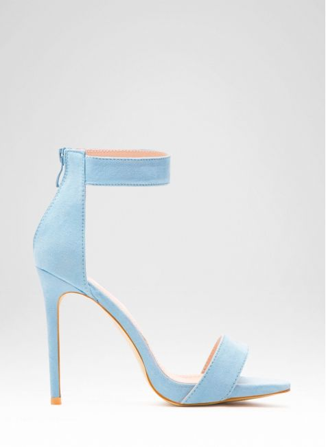 Sandały Beauty Space Blue Sandals / Sandały / Obuwie damskie - Modne buty, stylowe ubrania i obuwie damskie, sklep z butami i ubraniami, modne buty letnie i zimowe - DeeZee.pl