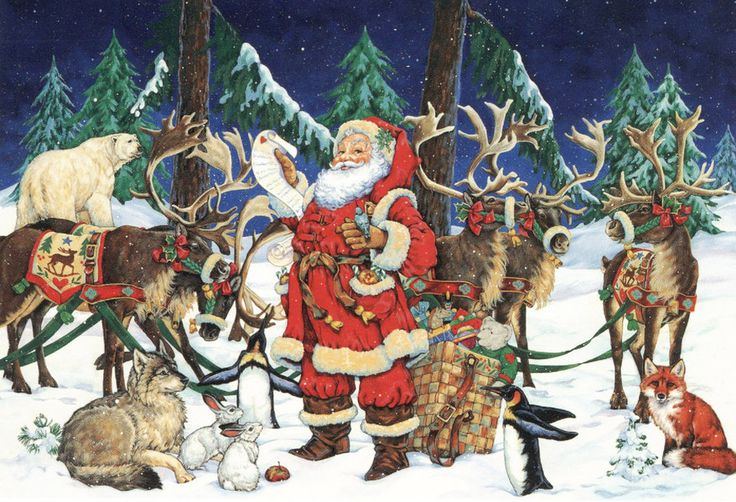Santa --- Christmas By Donna Race