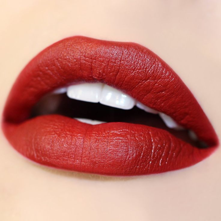 Lost brown red Ultra Satin Lip swatch