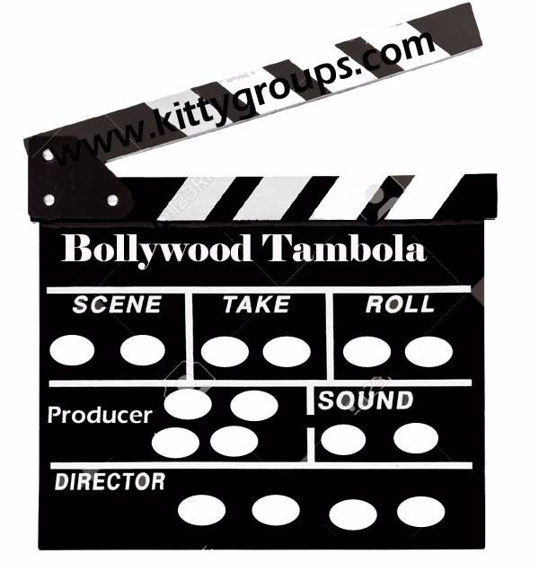 Bollywood Tambola Ticket For Kitty Party