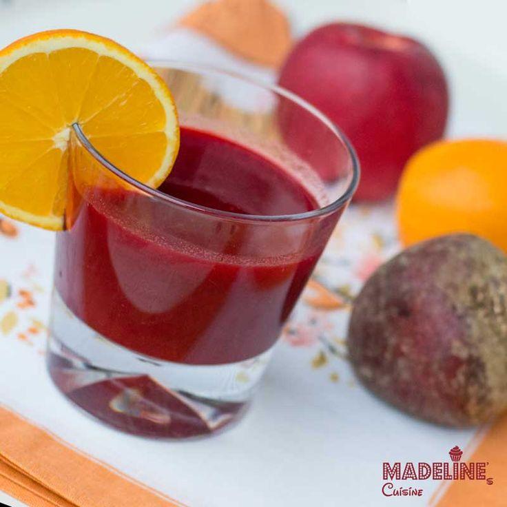 Suc de sfecla, mere si ghimbir / Beetroot, apple & ginger juice
