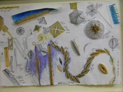 Jacqueline Ryan - Jewellery Sketchbook pages