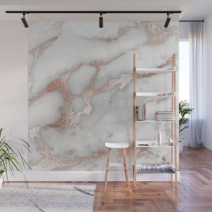 With Our Wall Murals You Can Cover An Entire Wall With A Rad Design Just Line Up The Panels And Wallpaper Bedroom Feature Wall Wall Murals Marble Wall Mural
