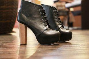 женские черные туфли на платформе с каблуком: 20 тыс изображений найдено в Яндекс.Картинках