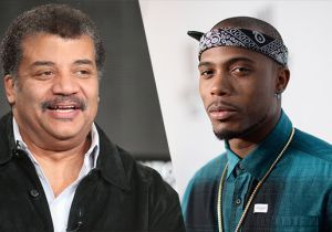 Neil deGrasse Tyson drops by 'The Nightly Show' to address B.o.B's wild 'flat Earth' theories and drops the mic in the process.