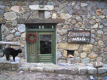 Milia restaurant, Milia Crete
