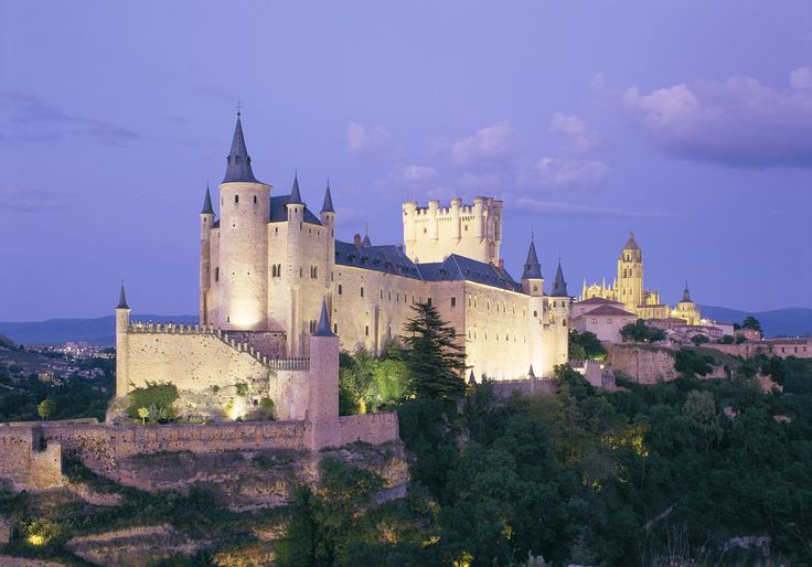 ALCAZAR CASTLE AND CATHEDRAL, SEGOVIA, Spain - The Travel Library/Rex Features