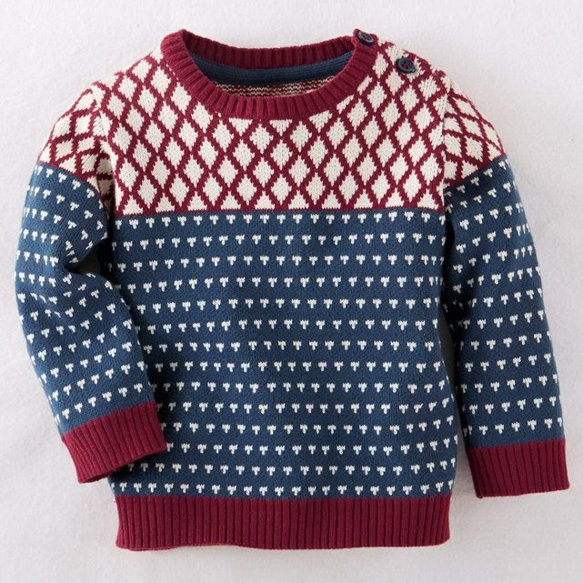 Jacquard Jumper, 1 Month - 3 Years R mini : price, reviews and rating, delivery…