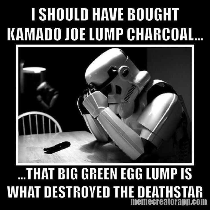 Don't settle for anything less than the best! Once you try Kamado Joe lump charcoal you won't try anything else!