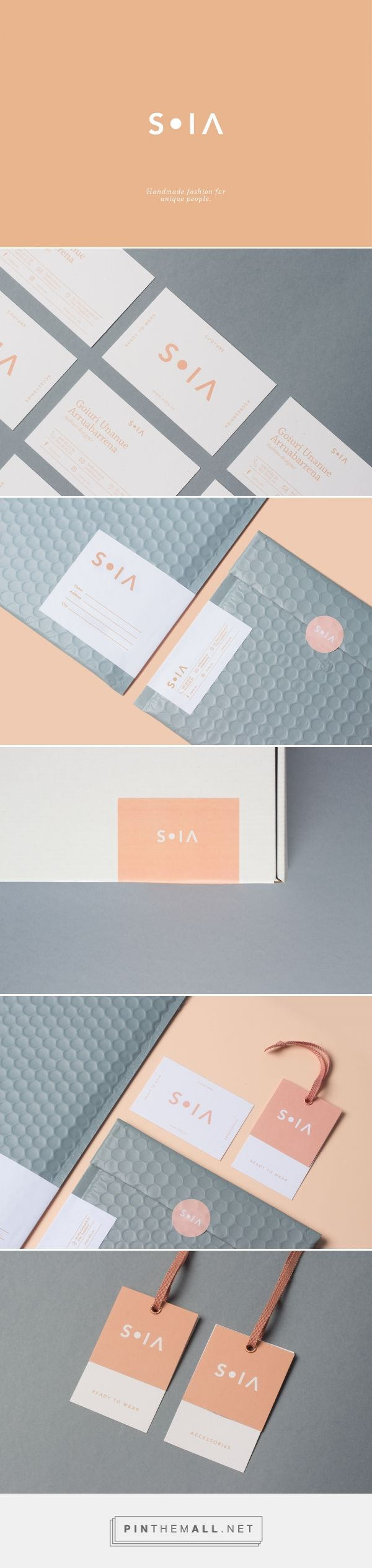 S O I A Fashion Branding by Nere Oria | Fivestar Branding Agency – Design and Branding Agency & Curated Inspiration Gallery #branding #brand #brandidentity #design #designinspiration #logo #fashionbrand