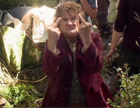 Een brutaal mannetje die Bilbo Baggins ;) #thehobbit #lotr