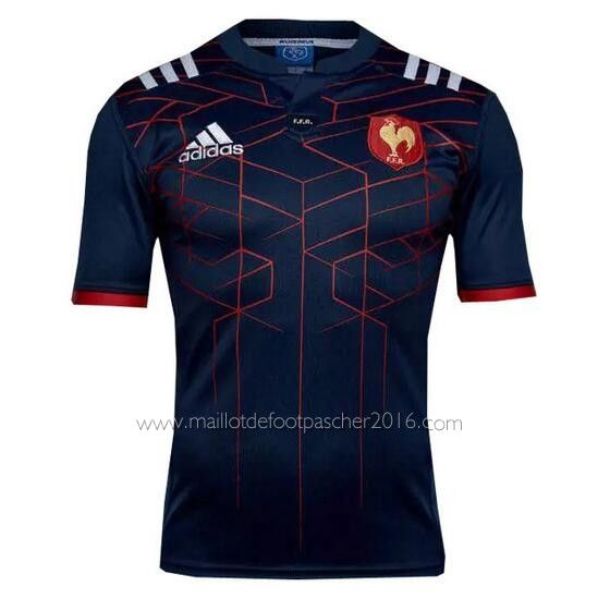 maillot de rugby France 2016-17 - Bleu marine