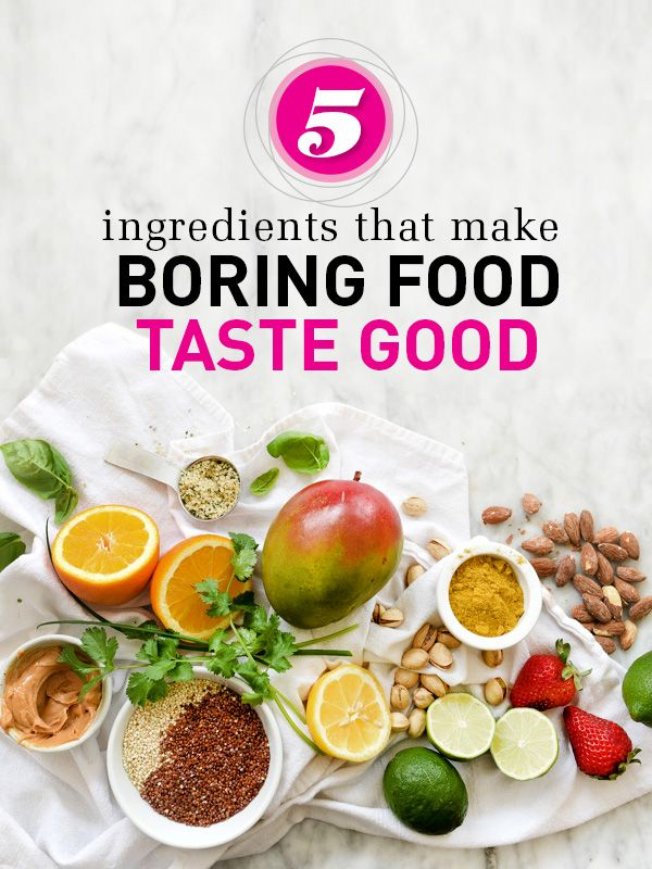 what makes food taste good 5 ingredients that make boring food taste good may 6, 2015 if your food doesn't show off the wow factor you wish it would, these 5 toppings can put a flavorful spin on an otherwise boring dish.