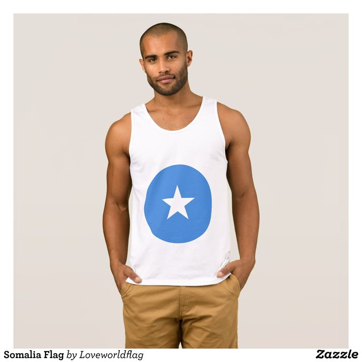 Somalia Flag Tank Top - Comfy Moisture-Wicking Sport Tank Tops By Talented Fashion & Graphic Designers - #tanktops #gym #exercise #workout #mensfashion #apparel #shopping #bargain #sale #outfit #stylish #cool #graphicdesign #trendy #fashion #design #fashiondesign #designer #fashiondesigner #style