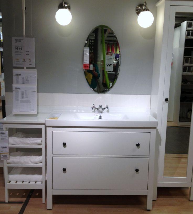 Sinks Design Ideas Classy White Single Bath Vanities Ikea With Unframed Oval Bathroom Mirror Sink