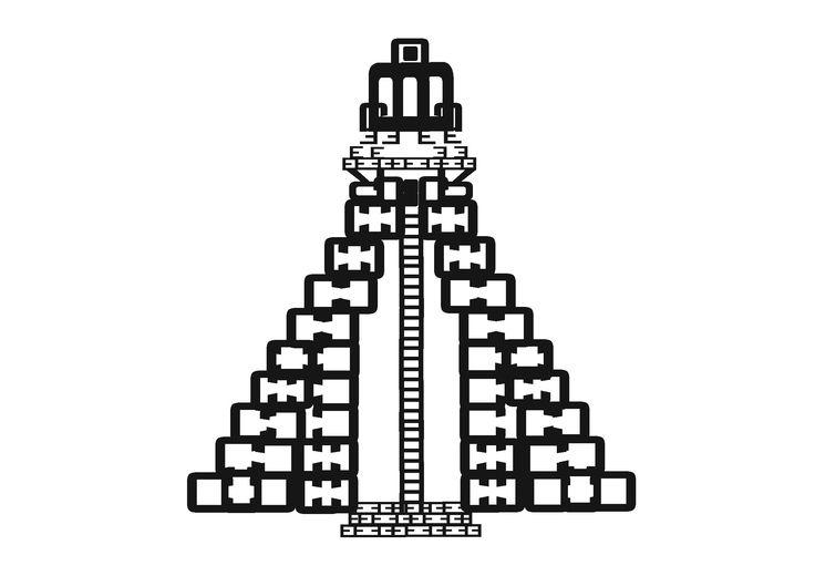myrdesign, typography, maya tempel, mayan pyramid, drawing letters, guatemala, reading culture, typography, typografie