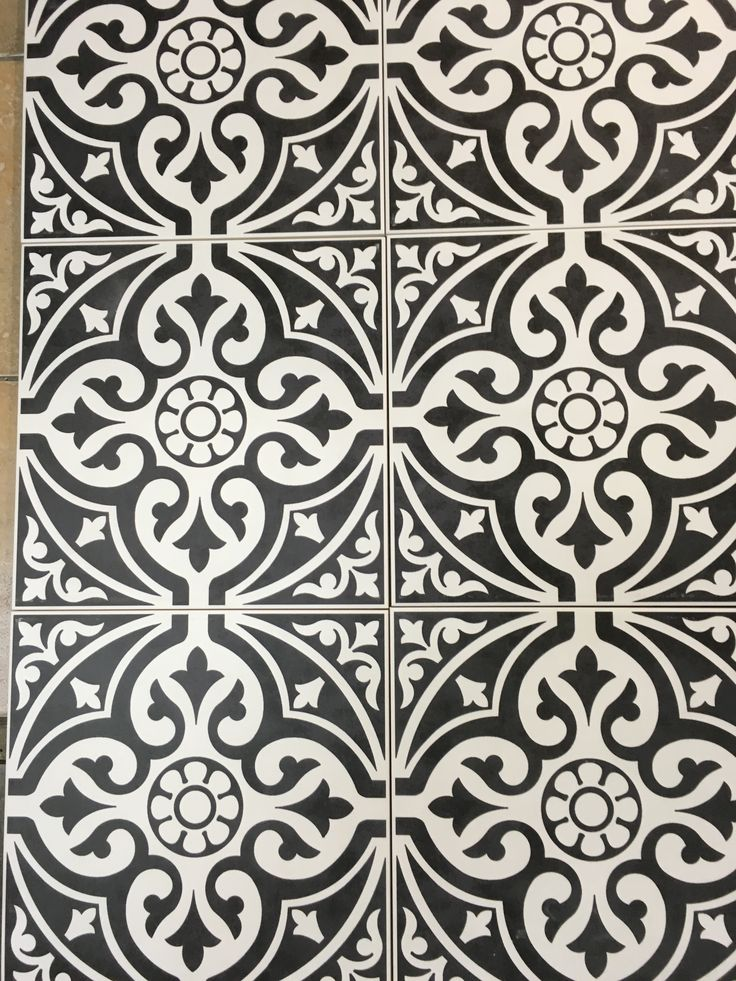 British Ceramic Tiles Devonstone Feature Black Floor Tile