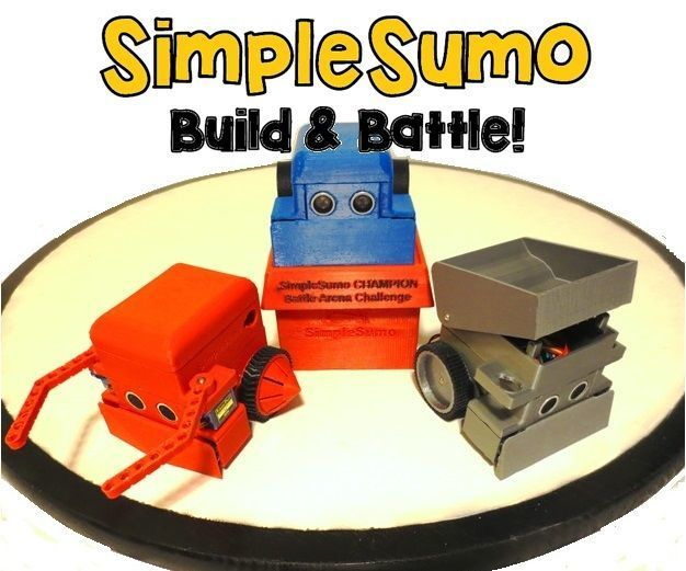 One ring…two robots enter…only one will be victorious! Mini-sumo robots are an excellent way to show kids that science and engineering can be fun and...